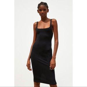 ZARA Black Slip Dress